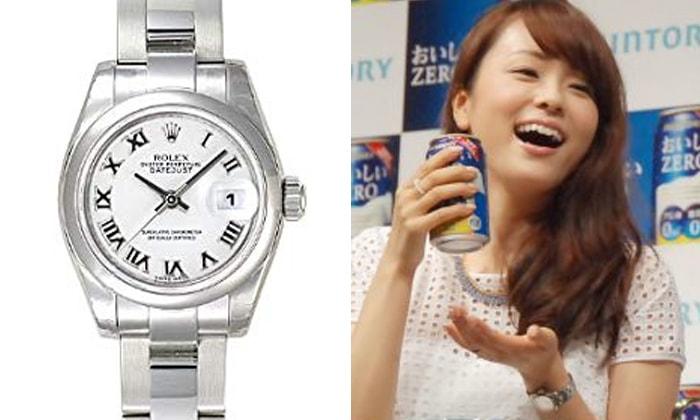 finest selection 23224 77932 ロレックスをつける女性の芸能人、有名人! | 大人の腕時計