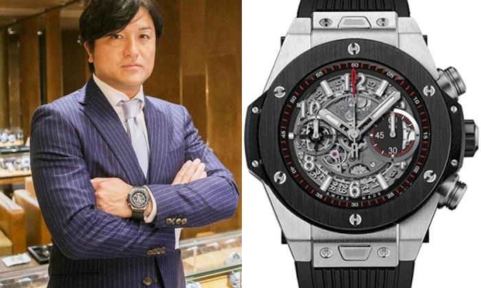 the latest 06d2a 6ccd8 ウブロを愛用する男性芸能人、有名人 | 大人の腕時計