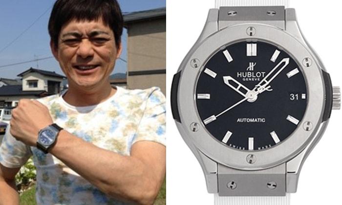 the latest 429b3 126c5 ウブロを愛用する男性芸能人、有名人 | 大人の腕時計