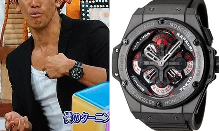 the latest b4a66 37602 ウブロを愛用する男性芸能人、有名人 | 大人の腕時計