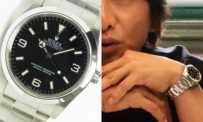 innovative design 51d9b a897d エクスプローラーを愛用する男性芸能人、有名人 | 大人の腕時計