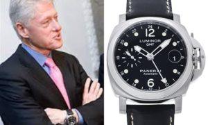 パネライ ルミノールGMT ビル・クリントン 愛用の時計